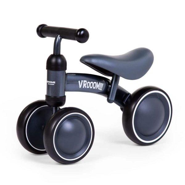 vélo porteur enfant vroom métal gris childhome (4)