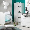 Chambre Complete Altea Avec Lit Bebe Plexiglas Transprent Blanc 2 Majoliechambre