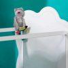 Cotes Transprent Lit Plexiglas Blanc Marque Altea Majoliechambre