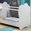 lit bébé plexiglas côtés transparent ALTEA