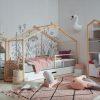 lit cabane enfant avec barrière cherokee