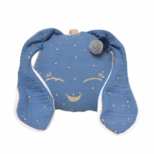 Doudou Mini Lapichou Bleu Azur