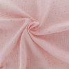 Ciel de lit Mousseline Rose Tendre & Pois Dorés