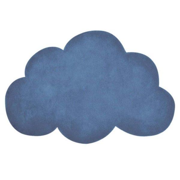 tapis enfant nuage bleu marine lilipinso (1)