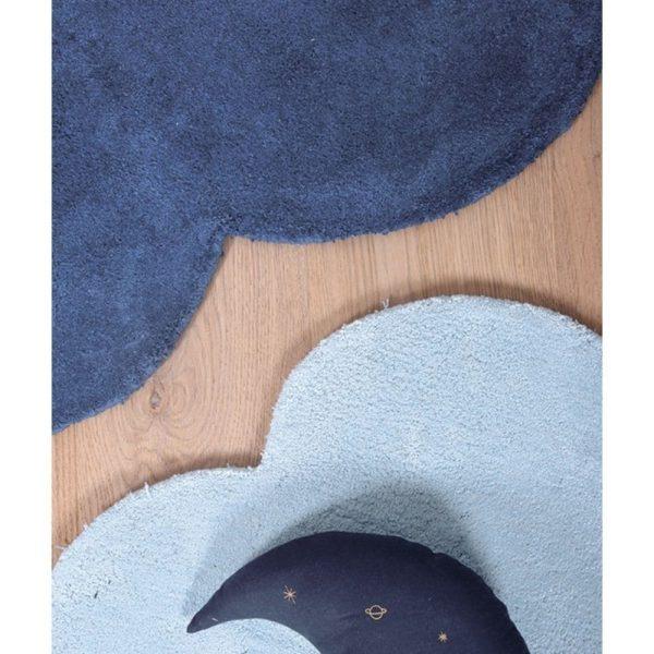 tapis enfant nuage bleu marine lilipinso (2)