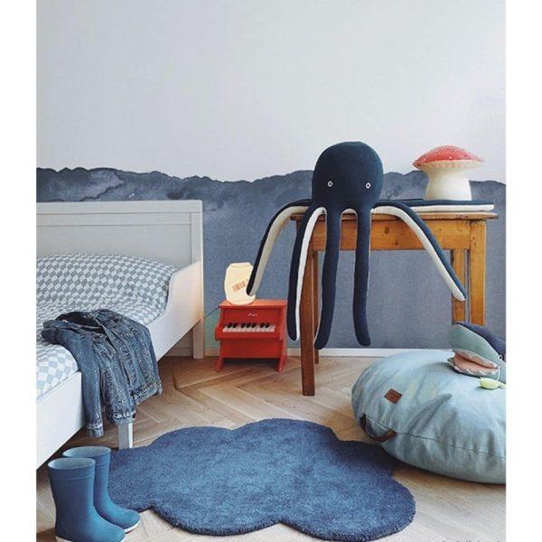 tapis enfant nuage bleu marine lilipinso (5)