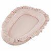 réducteur de lit simply glamour à volants rose poudré (1)