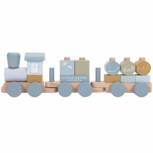 train en bois bleu little dutch (1)