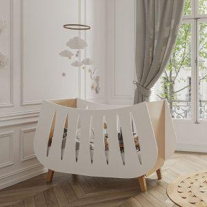lit bébé trapeze 60 x 120 cm