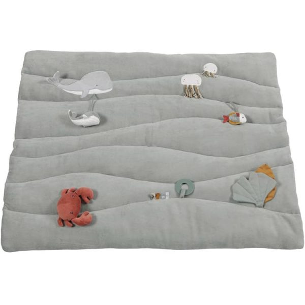 tapis de parc bébé Ocean Mint Little Dutch