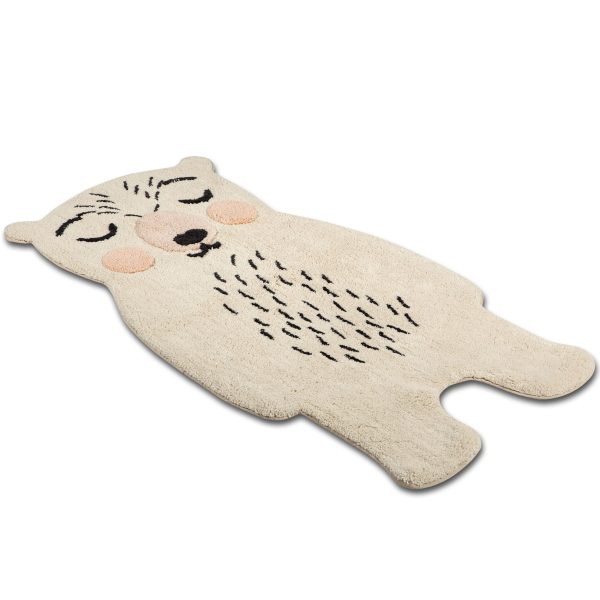 tapis bébé coton ours odino nattiot