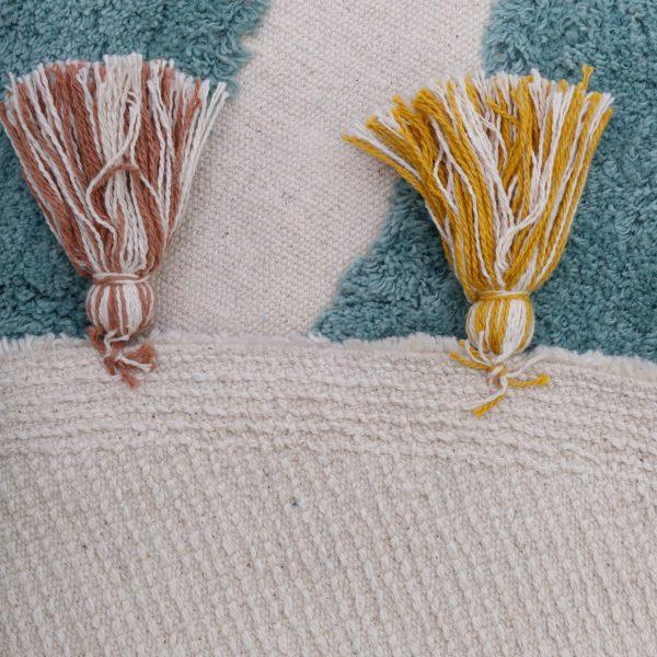 tapis chambre bébé coton rainbow nattiot
