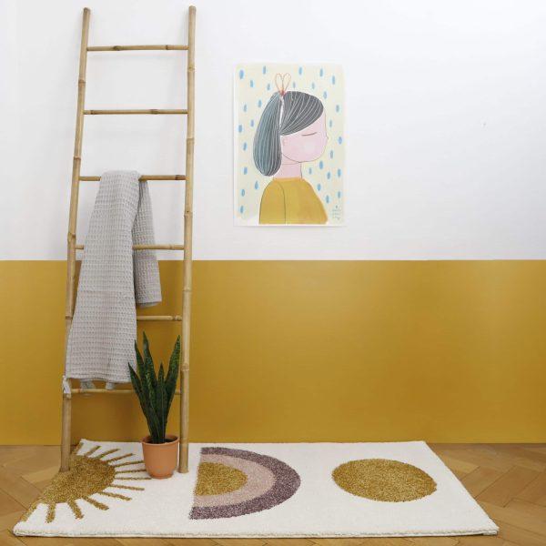 tapis chambre enfant sunshine nattiot
