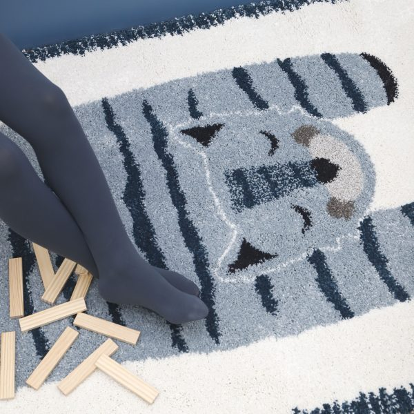 tapis chambre enfant tigre elvar