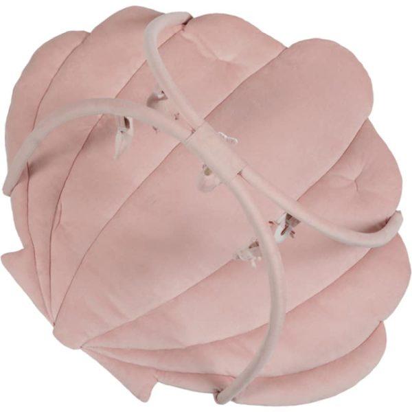 tapis d'activités coquille ocean pink Little Dutch