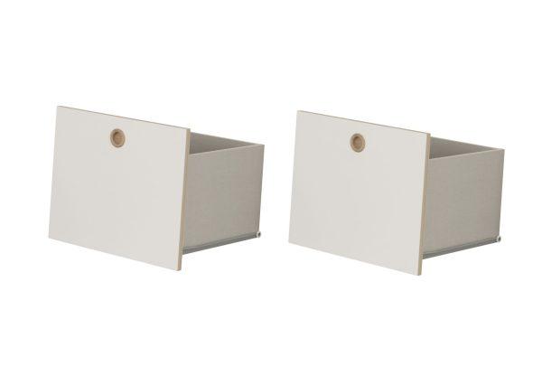 tiroirs blancs pour meuble enfant