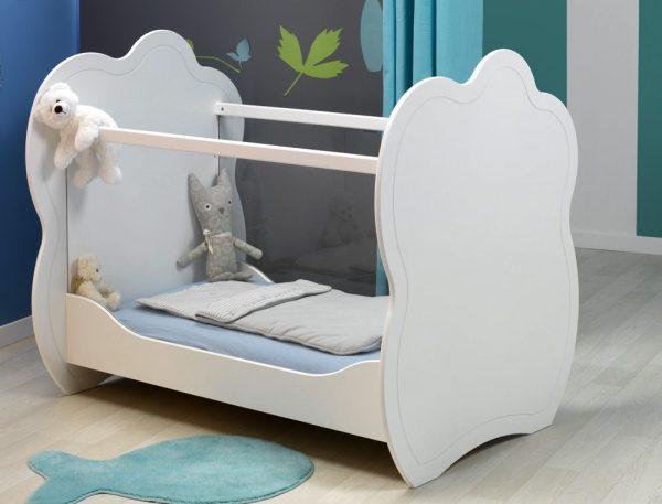 lit bébé plexiglass