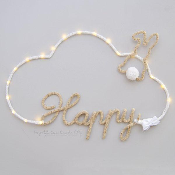 Nuage Lumineux Happy