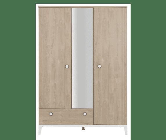 Armoire 3 portes 1 tiroir Praslin