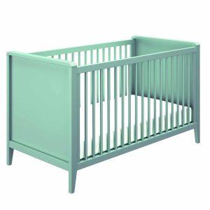 Lit bébé évolutif bleu