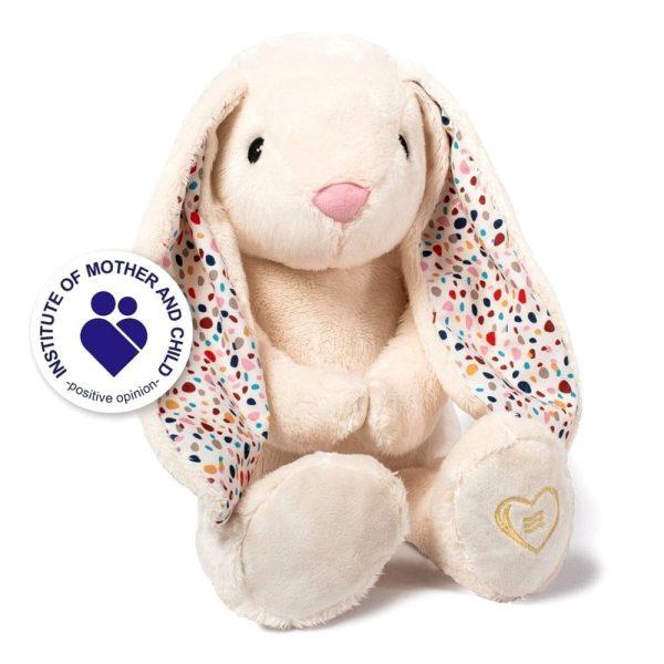 lapin blanc écru wishbear