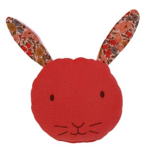bouillotte gaze de coton liberty oreilles de lapin