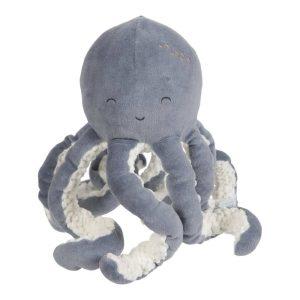 Peluche Octopus Ocean Blue Little Dutch-majoliechambre