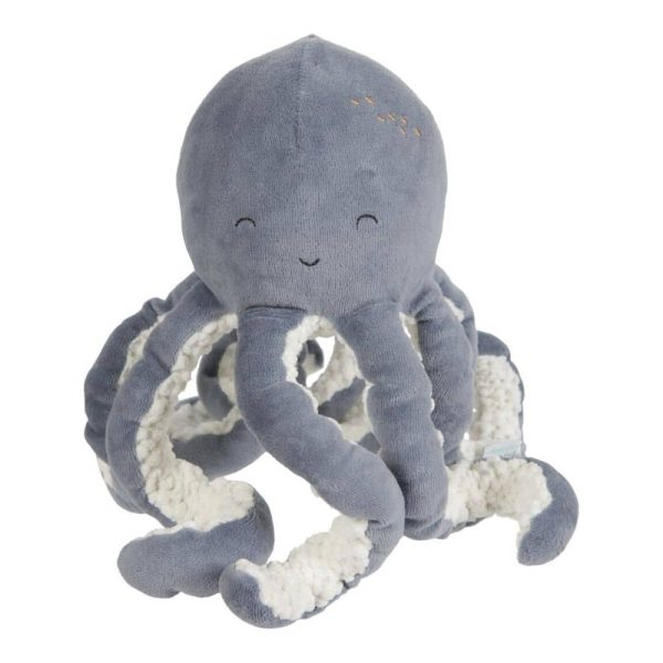Peluche Octopus Ocean Blue Little Dutch-majoliechambre