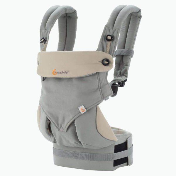 Porte bébé physiologique Omni 360 gris
