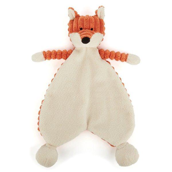 doudou plat bébé renard cordy roy jellycat