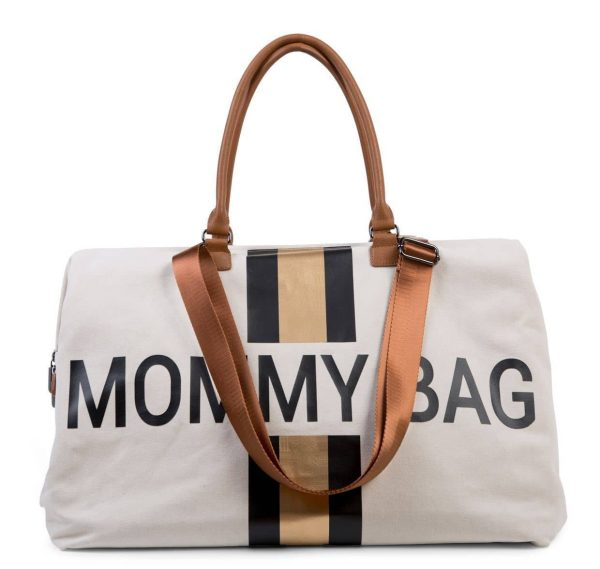 Sac Mommy Bag noir et or