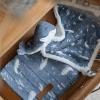 langes bébé ocean blue little dutch