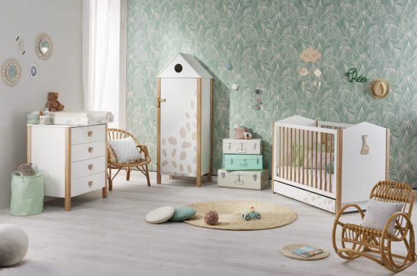 chambre bébé sophie la girafe