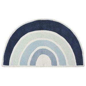 Tapis coton LILIPINSO rainbow Bleu