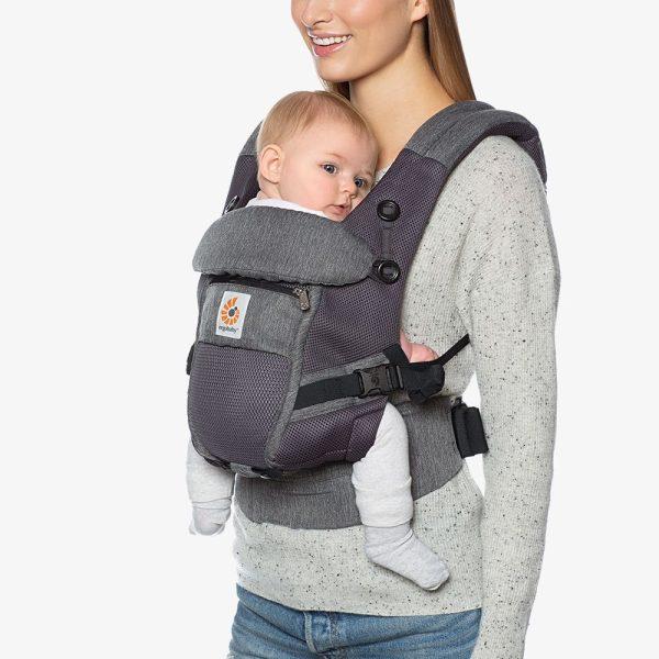porte bébé ergobaby gris chiné