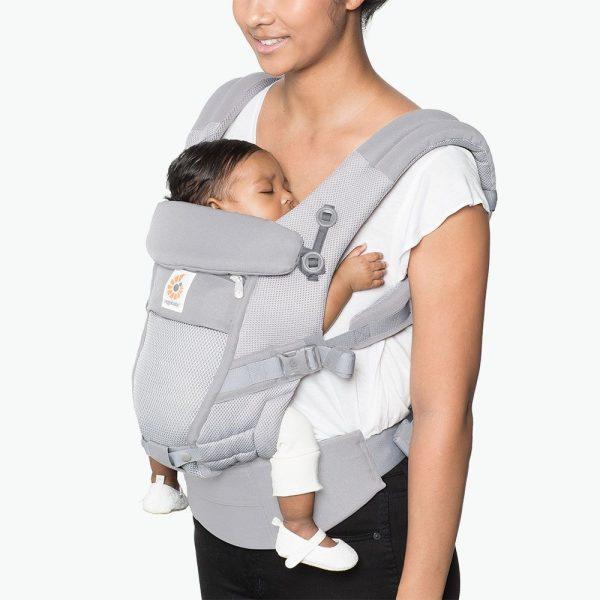 porte bébé ergobaby gris perle