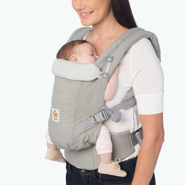 porte bébé adapt ergobaby gris perle