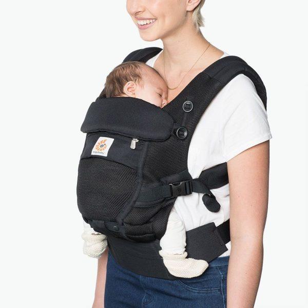 porte bébé ergobaby noir