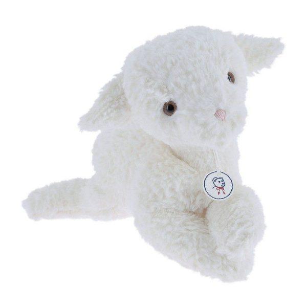 peluche agneau Trianon blanche