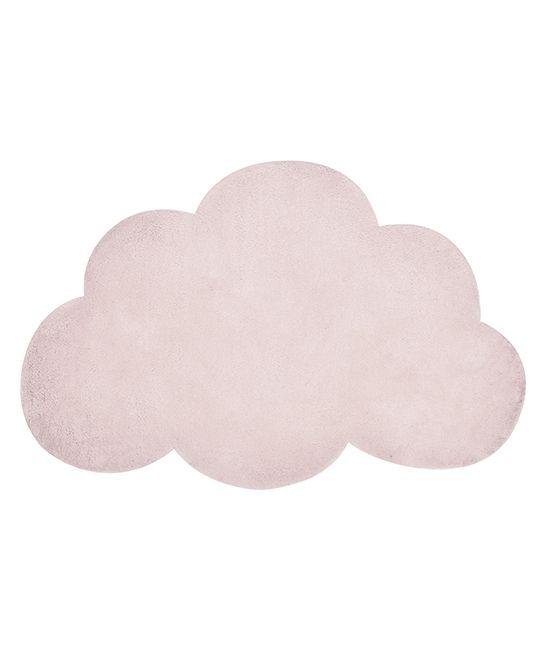 tapis nuage rose layette