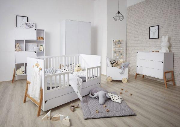 mobilier chambre enfant blanc
