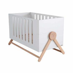Lit bébé évolutif blanc