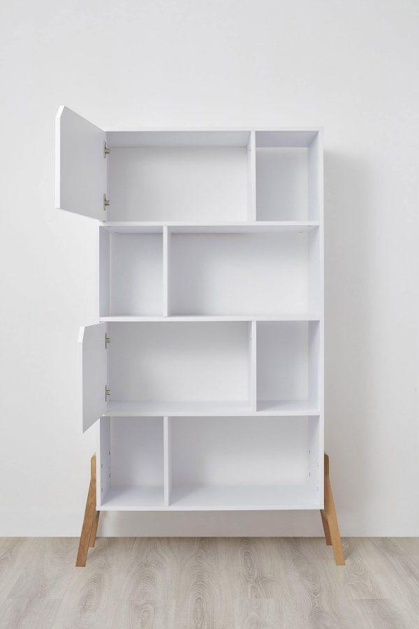bibliothèque coloris blanc chambre enfant