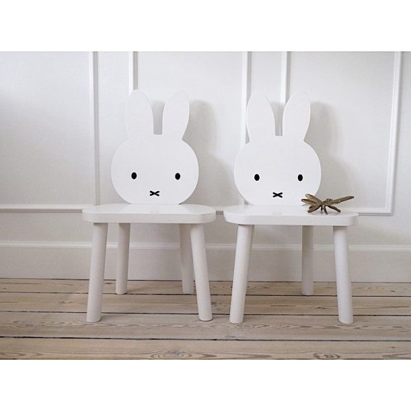 chaise Miffy le lapin