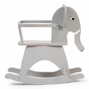 Eléphant à bascule avec arceau 12 Mois