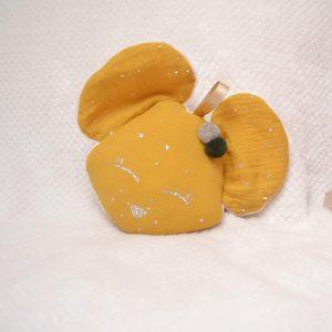 doudou souris moutarde