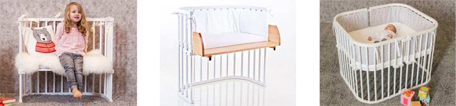 Transformations possibles du lit cododo babybay 2