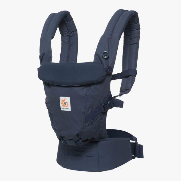 Porte bébé physiologique ERGOBABY - Adapt bleu
