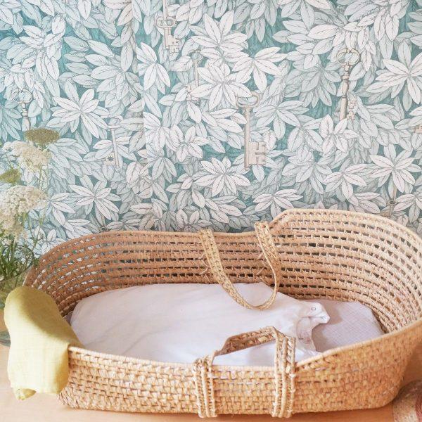 gigoteuse percale de coton blanc
