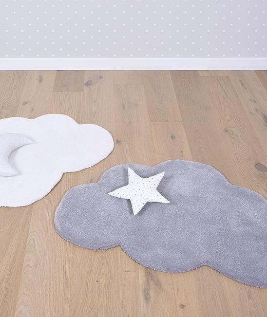 tapis enfant nuage gris